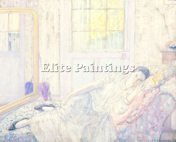 FRIESEKE FREDERICK CARL FRED22 ARTIST PAINTING REPRODUCTION HANDMADE OIL CANVAS
