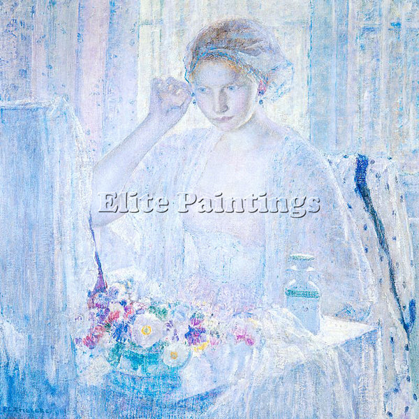 FRIESEKE FREDERICK CARL FRED23 ARTIST PAINTING REPRODUCTION HANDMADE OIL CANVAS