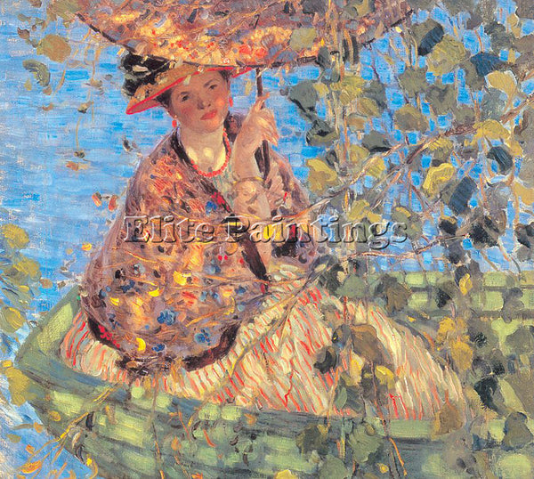 FRIESEKE FREDERICK CARL FRED34 ARTIST PAINTING REPRODUCTION HANDMADE OIL CANVAS