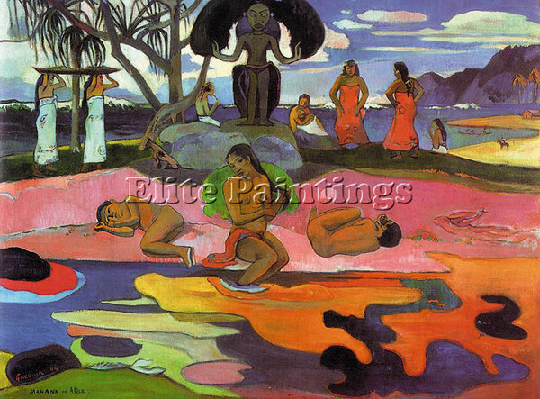 PAUL GAUGUIN GAUG3 ARTIST PAINTING REPRODUCTION HANDMADE CANVAS REPRO WALL DECO