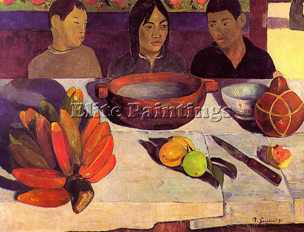 PAUL GAUGUIN GAUG8 ARTIST PAINTING REPRODUCTION HANDMADE CANVAS REPRO WALL DECO