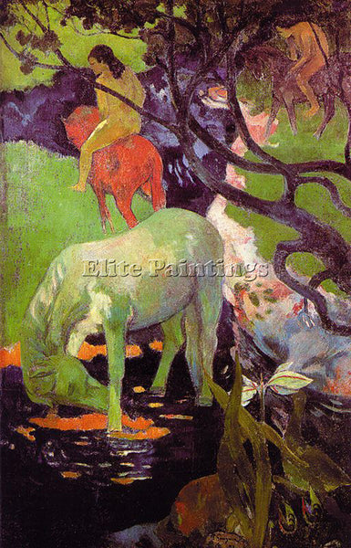 PAUL GAUGUIN GAUG10 ARTIST PAINTING REPRODUCTION HANDMADE CANVAS REPRO WALL DECO