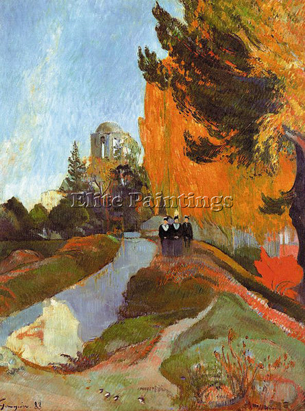 PAUL GAUGUIN GAUG11 ARTIST PAINTING REPRODUCTION HANDMADE CANVAS REPRO WALL DECO