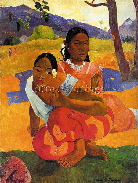 PAUL GAUGUIN GAUG12 ARTIST PAINTING REPRODUCTION HANDMADE CANVAS REPRO WALL DECO