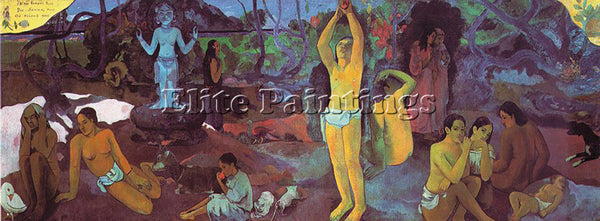 PAUL GAUGUIN GAUG14 ARTIST PAINTING REPRODUCTION HANDMADE CANVAS REPRO WALL DECO