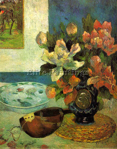 PAUL GAUGUIN GAUG17 ARTIST PAINTING REPRODUCTION HANDMADE CANVAS REPRO WALL DECO