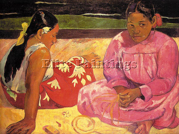 PAUL GAUGUIN GAUG19 ARTIST PAINTING REPRODUCTION HANDMADE CANVAS REPRO WALL DECO