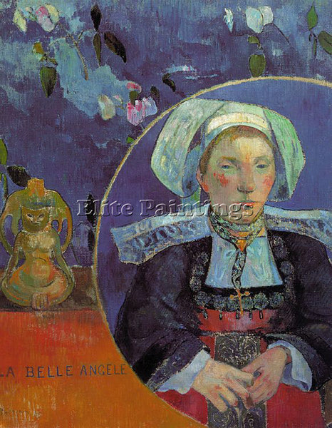 PAUL GAUGUIN GAUG21 ARTIST PAINTING REPRODUCTION HANDMADE CANVAS REPRO WALL DECO