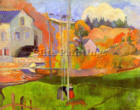 PAUL GAUGUIN GAUG22 ARTIST PAINTING REPRODUCTION HANDMADE CANVAS REPRO WALL DECO