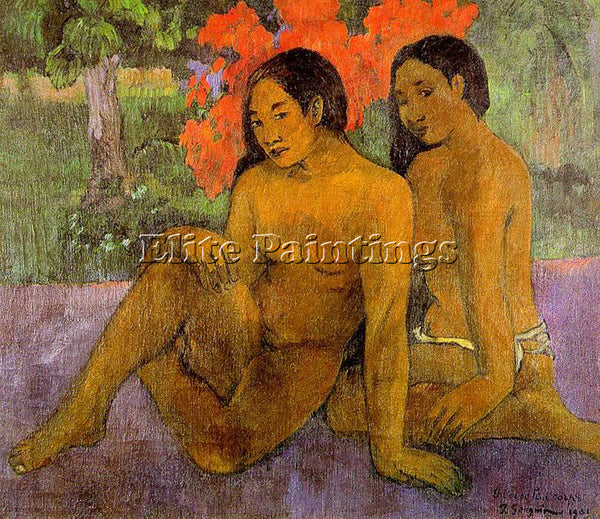 PAUL GAUGUIN GAUG24 ARTIST PAINTING REPRODUCTION HANDMADE CANVAS REPRO WALL DECO