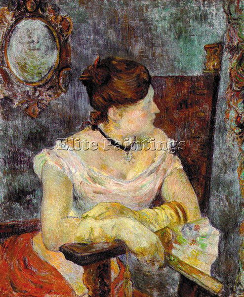 PAUL GAUGUIN GAUG25 ARTIST PAINTING REPRODUCTION HANDMADE CANVAS REPRO WALL DECO