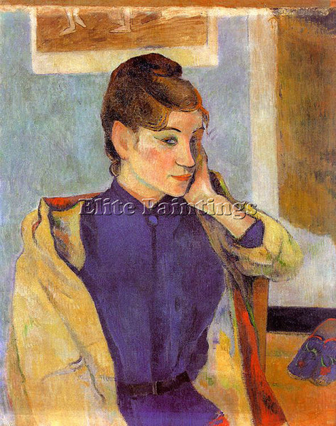 PAUL GAUGUIN GAUG34 ARTIST PAINTING REPRODUCTION HANDMADE CANVAS REPRO WALL DECO