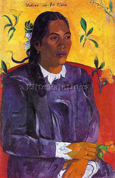 PAUL GAUGUIN GAUG35 ARTIST PAINTING REPRODUCTION HANDMADE CANVAS REPRO WALL DECO
