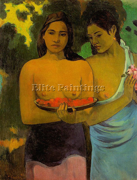 PAUL GAUGUIN GAUG36 ARTIST PAINTING REPRODUCTION HANDMADE CANVAS REPRO WALL DECO