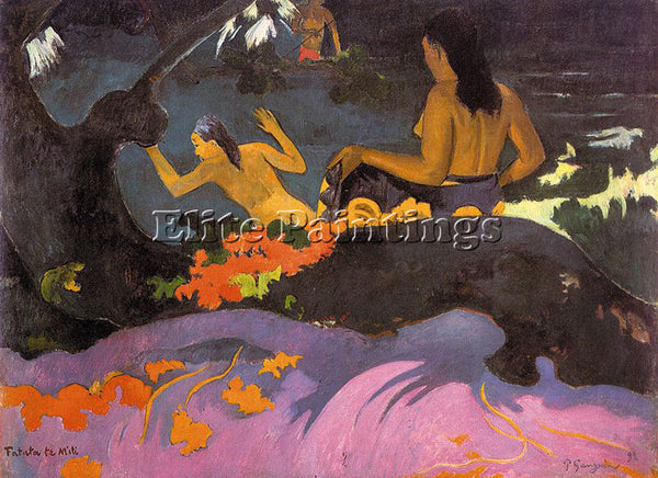 PAUL GAUGUIN GAUG37 ARTIST PAINTING REPRODUCTION HANDMADE CANVAS REPRO WALL DECO