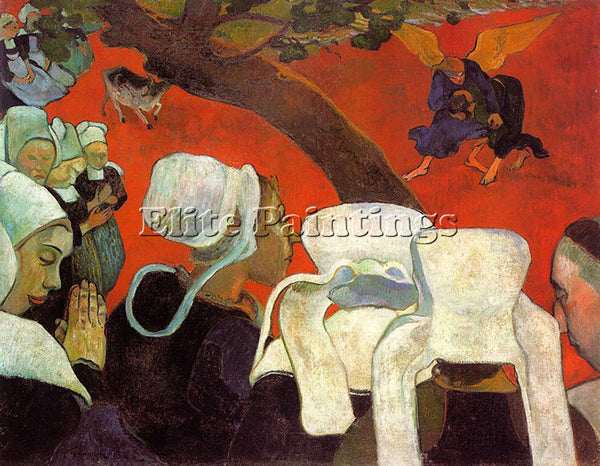 PAUL GAUGUIN GAUG40 ARTIST PAINTING REPRODUCTION HANDMADE CANVAS REPRO WALL DECO