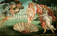 FAMOUS PAINTINGS BIRTH OF THE VENUS ARTIST PAINTING REPRODUCTION HANDMADE OIL