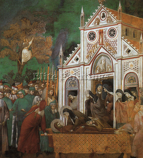 GIOTTO GIOTTO11 ARTIST PAINTING REPRODUCTION HANDMADE CANVAS REPRO WALL  DECO