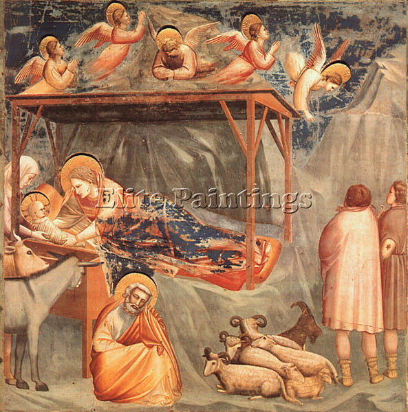 GIOTTO GIOTTO13 ARTIST PAINTING REPRODUCTION HANDMADE CANVAS REPRO WALL  DECO