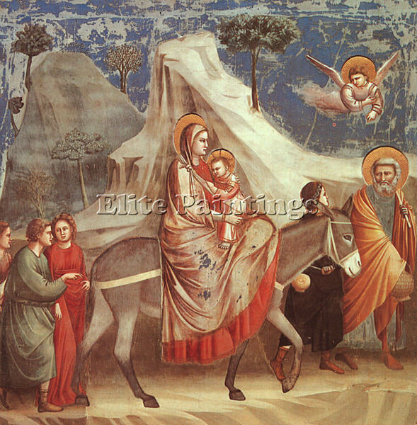 GIOTTO GIOTTO15 ARTIST PAINTING REPRODUCTION HANDMADE CANVAS REPRO WALL  DECO