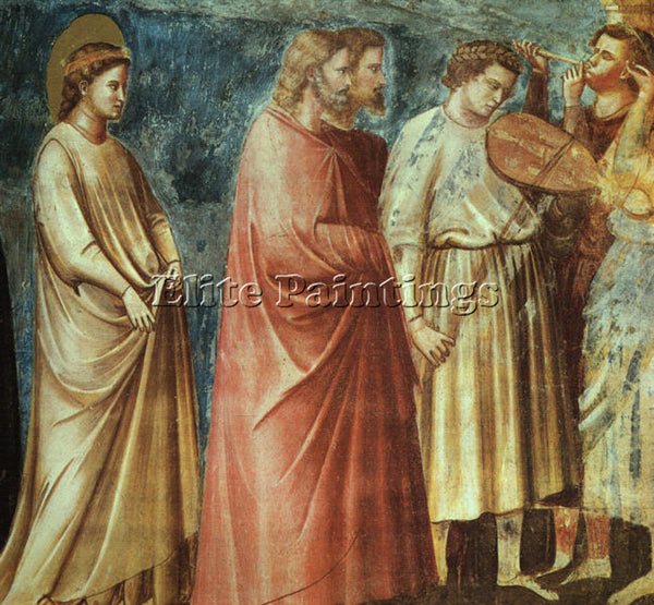 GIOTTO GIOTTO4 ARTIST PAINTING REPRODUCTION HANDMADE OIL CANVAS REPRO WALL  DECO