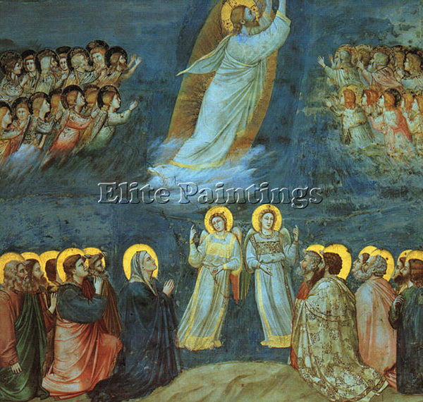 GIOTTO GIOTTO6 ARTIST PAINTING REPRODUCTION HANDMADE OIL CANVAS REPRO WALL  DECO