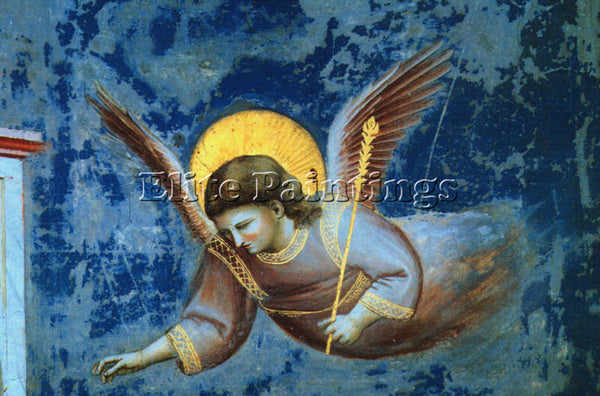 GIOTTO GIOTTO7 ARTIST PAINTING REPRODUCTION HANDMADE OIL CANVAS REPRO WALL  DECO