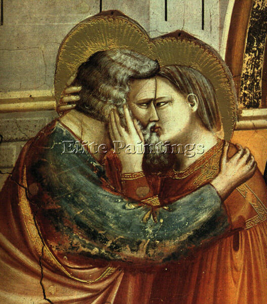 GIOTTO GIOTTO9 ARTIST PAINTING REPRODUCTION HANDMADE OIL CANVAS REPRO WALL  DECO
