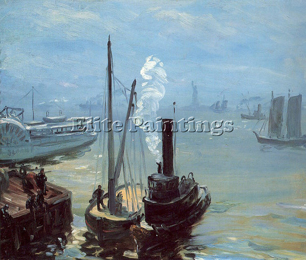 WILLIAM JAMES GLACKENS GLACK2 ARTIST PAINTING REPRODUCTION HANDMADE CANVAS REPRO