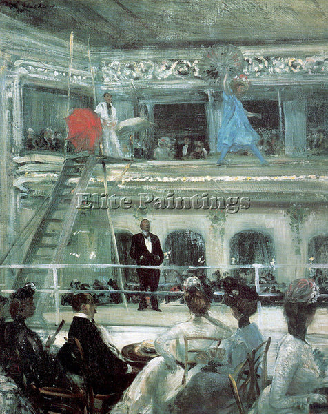 WILLIAM JAMES GLACKENS GLACK3 ARTIST PAINTING REPRODUCTION HANDMADE CANVAS REPRO
