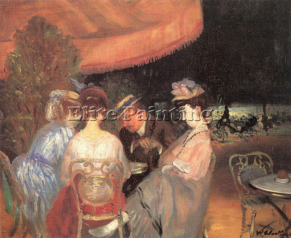 WILLIAM JAMES GLACKENS GLACK8 ARTIST PAINTING REPRODUCTION HANDMADE CANVAS REPRO