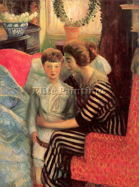 WILLIAM JAMES GLACKENS GLACK14 ARTIST PAINTING REPRODUCTION HANDMADE OIL CANVAS