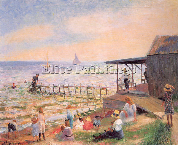 WILLIAM JAMES GLACKENS GLACK16 ARTIST PAINTING REPRODUCTION HANDMADE OIL CANVAS