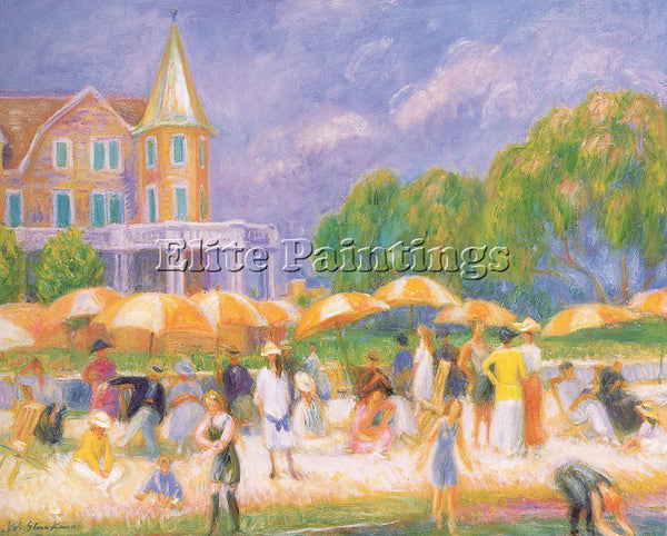 WILLIAM JAMES GLACKENS GLACK17 ARTIST PAINTING REPRODUCTION HANDMADE OIL CANVAS