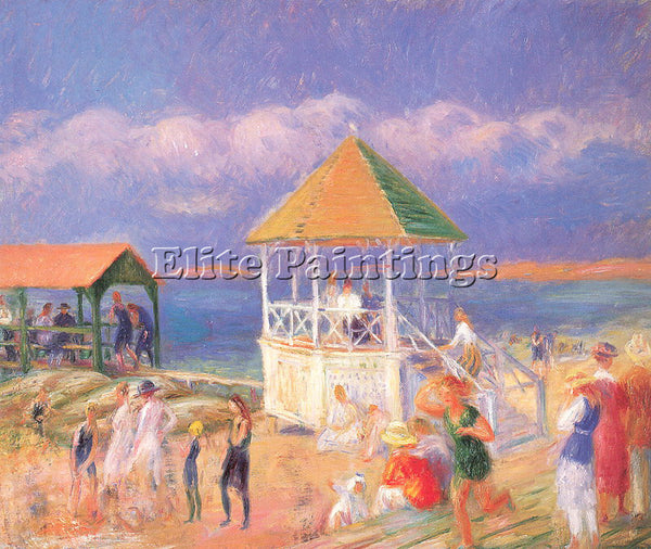 WILLIAM JAMES GLACKENS GLACK18 ARTIST PAINTING REPRODUCTION HANDMADE OIL CANVAS