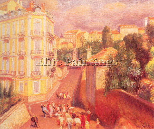 WILLIAM JAMES GLACKENS GLACK26 ARTIST PAINTING REPRODUCTION HANDMADE OIL CANVAS