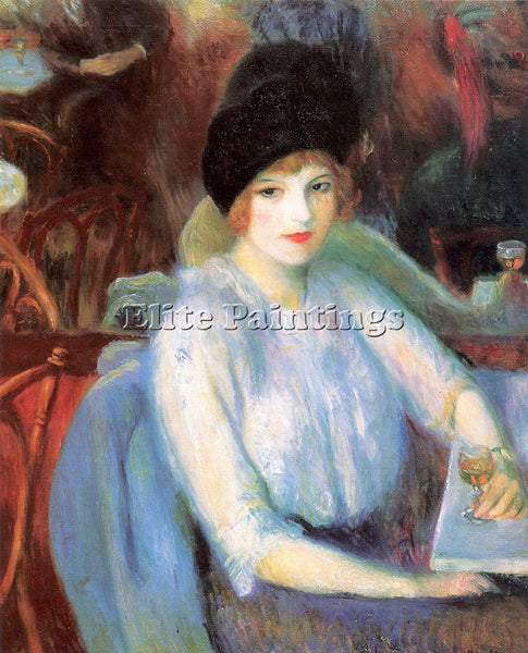 WILLIAM JAMES GLACKENS GLACK33 ARTIST PAINTING REPRODUCTION HANDMADE OIL CANVAS