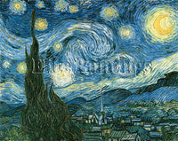 FAMOUS PAINTINGS GOGH STARRY NIGHT 116 ARTIST PAINTING REPRODUCTION HANDMADE OIL