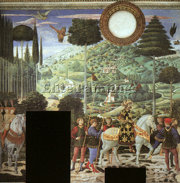 BENOZZO GOZZOLI GOZZ2 ARTIST PAINTING REPRODUCTION HANDMADE OIL CANVAS REPRO ART