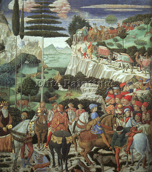 BENOZZO GOZZOLI GOZZ3 ARTIST PAINTING REPRODUCTION HANDMADE OIL CANVAS REPRO ART