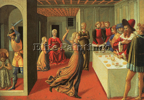 BENOZZO GOZZOLI GOZZ4 ARTIST PAINTING REPRODUCTION HANDMADE OIL CANVAS REPRO ART