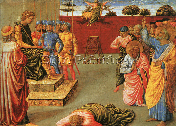 BENOZZO GOZZOLI GOZZ5 ARTIST PAINTING REPRODUCTION HANDMADE OIL CANVAS REPRO ART
