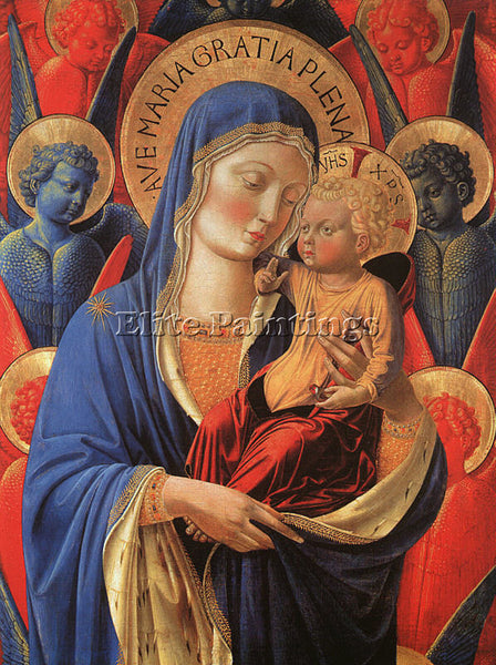 BENOZZO GOZZOLI GOZZ6 ARTIST PAINTING REPRODUCTION HANDMADE OIL CANVAS REPRO ART