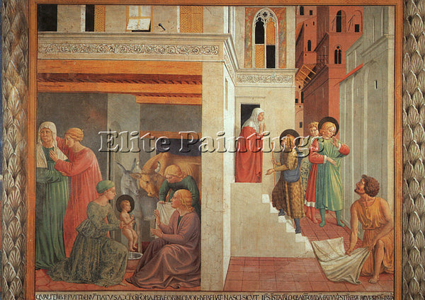 BENOZZO GOZZOLI GOZZ9 ARTIST PAINTING REPRODUCTION HANDMADE OIL CANVAS REPRO ART