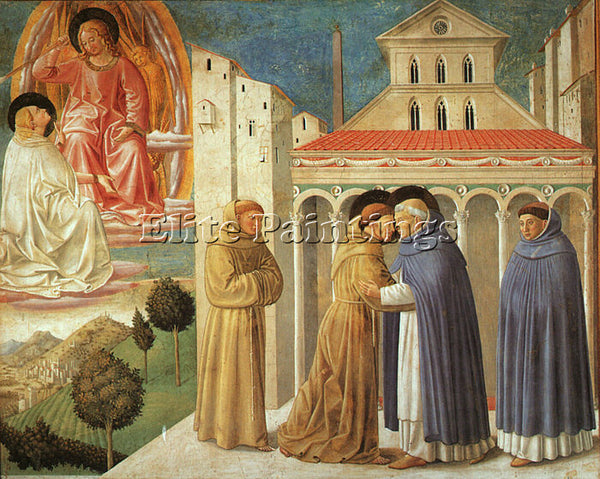 BENOZZO GOZZOLI GOZZ11 ARTIST PAINTING REPRODUCTION HANDMADE CANVAS REPRO WALL