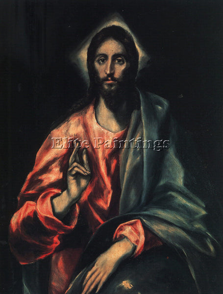 EL GRECO GRECO6 ARTIST PAINTING REPRODUCTION HANDMADE CANVAS REPRO WALL  DECO