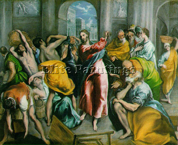 EL GRECO GRECO7 ARTIST PAINTING REPRODUCTION HANDMADE CANVAS REPRO WALL  DECO