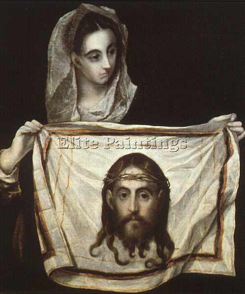 EL GRECO GRECO9 ARTIST PAINTING REPRODUCTION HANDMADE CANVAS REPRO WALL  DECO