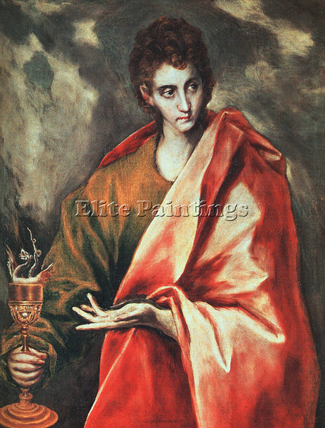 EL GRECO GRECO11 ARTIST PAINTING REPRODUCTION HANDMADE OIL CANVAS REPRO WALL ART