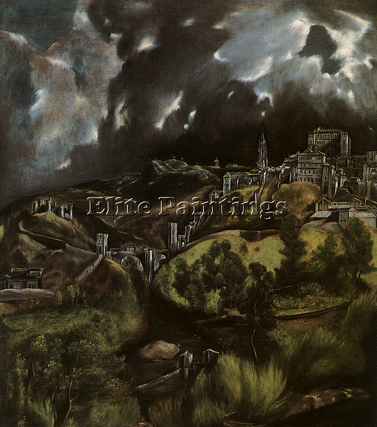 EL GRECO GRECO12 ARTIST PAINTING REPRODUCTION HANDMADE OIL CANVAS REPRO WALL ART